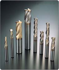 Roughing end mill nachi